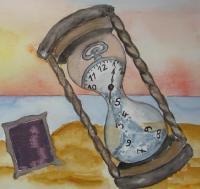Le sablier du temps